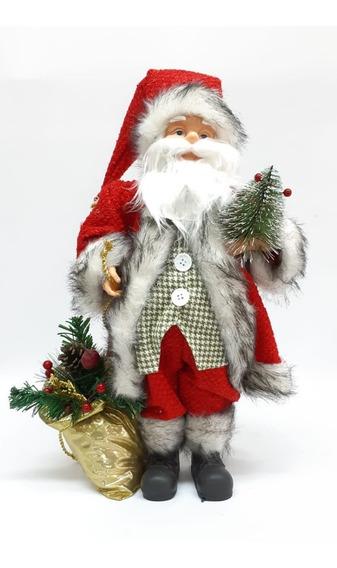 Papa Noel Artesanal 45 Cm #30963- Sheshu Navidad