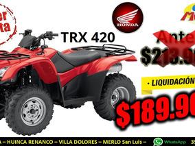 Cuatriciclo Honda Trx 420 Tm