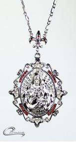 Colar, Cristo, Rhodium, Pingente, Joia, Folheado, Ouro 18k