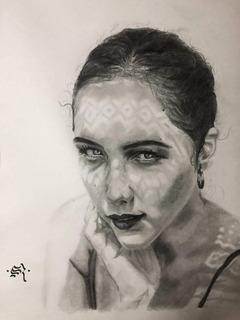 Dibujos Y Retratos | Hechos A Mano | Grafito | Personalizado