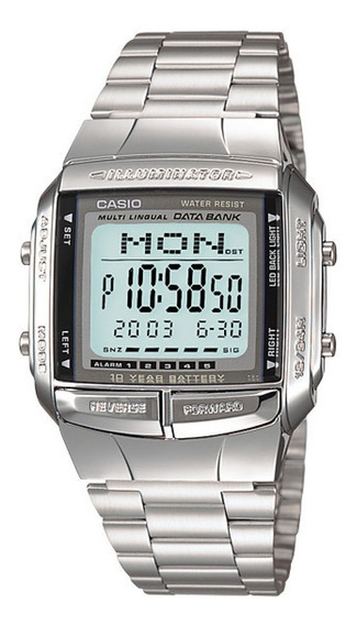 Relógio Original Casio Iluminator Masculino Db-360-1adf