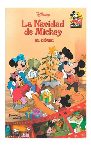 La Navidad De Mickey - Ed. Planeta Junior - Charles Dickens