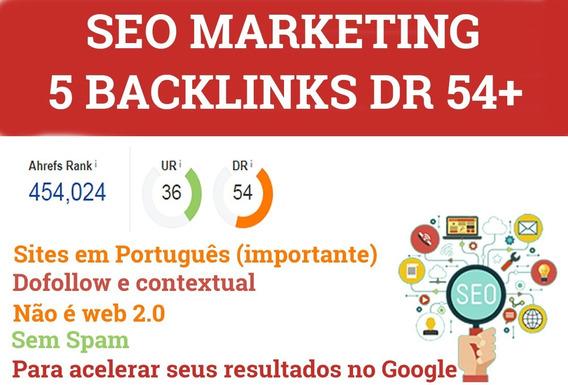 5 Backlinks Dr 54+ Babri Backlinks Online Seja O Numero 1