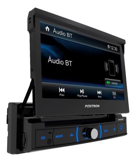Dvd Automotivo Positron Sp6330bt Lcd 7 - Retrátil Touch