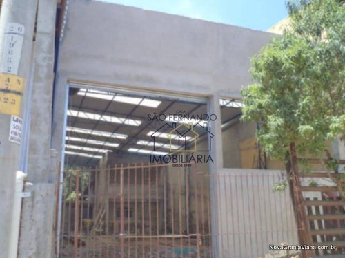 Imagem 1 de 9 de Galpão Comercial Para Locação, Jardim São João, Jandira - Ga0010. - Ga0010