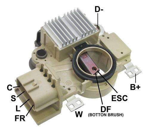 Regulador De Alternador Mitsubishi L200 Triton/etc 10/