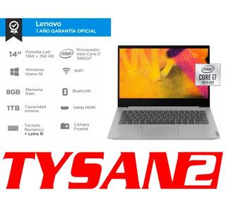 Notebook Lenovo Core I7 10ma 8g 1tb 1.5kg Ñ 14 En Stock Ya!!