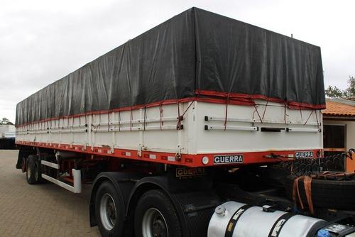 Imagem 1 de 15 de Carreta Graneleira Guerra Ls - C/ Locker Porta Container
