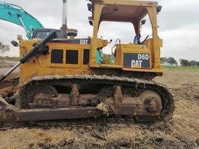 Tractor Oruga Cat D6d