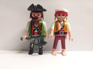 Playmobil Piratas Tripulación Nuevos Playmat
