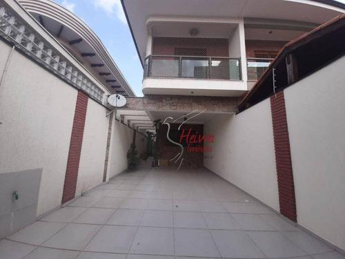 Imagem 1 de 30 de Sobrado Com 4 Dormitórios À Venda, 190 M² Por R$ 1.100.000,00 - Vila Barreto - São Paulo/sp - So0927