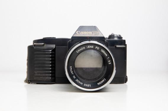 Câmera Fotográfica Canon T-50 (apenas A Lente Funcionando)