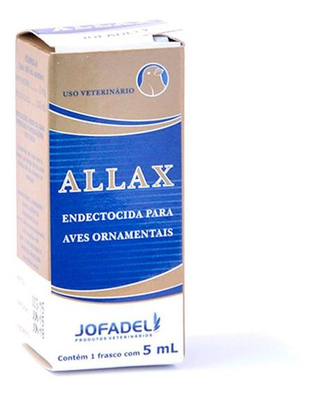Allax 5ml Controle De Ácaro Para Aves