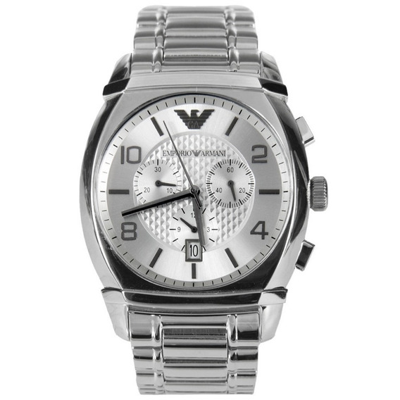 Reloj Análogo Marca Armani Modelo: Ar0350 Color Plata Para C