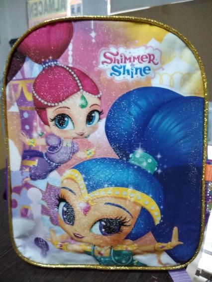 Mochila Shimmer Shine Chica Wabro 12 Pulgadas