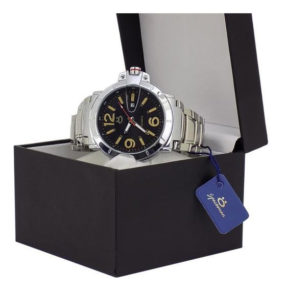 Relógio Masculino Original Spaceman Acompanha Caixa