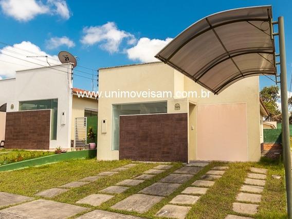 Casa À Venda, Terreno De Esquina, 70 M², 03 Quartos, 02 Vagas, Bairro Tarumã - Manaus / Am - Ca00089 - 32703585