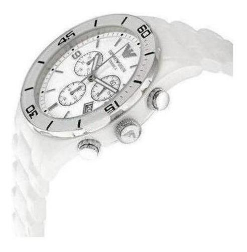 Relógio Empório Armani Ar1424 Cerâmica Original Caixa Branca
