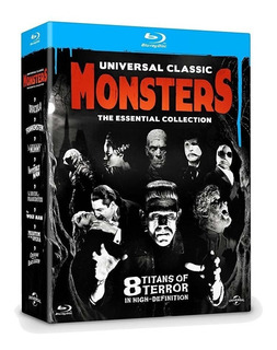 Universal Classic Monsters Collection Box 8 Blu Ray En Stock