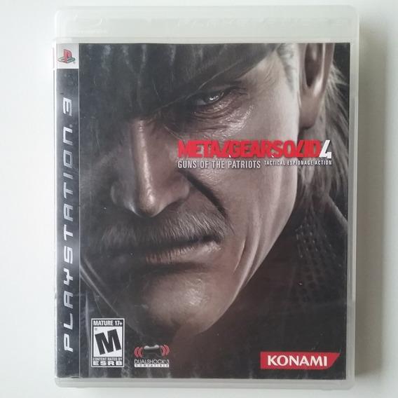 Metal Gear Solid 4 Ps3 Mídia Física Original Usado *