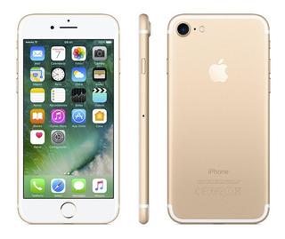 iPhone 7 Blanco & Dorado 128gb