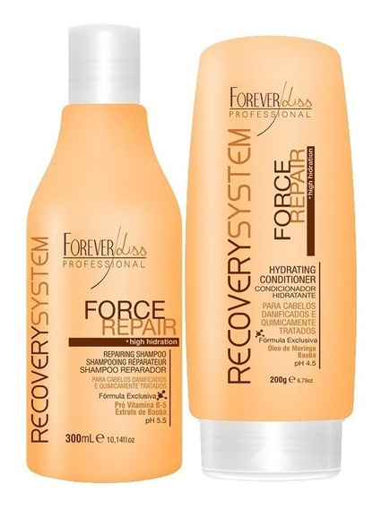 Kit Shampoo E Condicionador Force Repair - Forever Liss