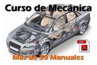 Mecánica Automotriz - Pack Más De 30 Manuales Pdf - Digital