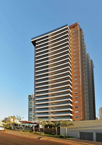 Magnífico Apartamento Com 200m², No Edifício Place Vendôme, No Bairro Jardim Botânico, Zona Sul De Ribeirão Preto - Ap02191 - 68336647