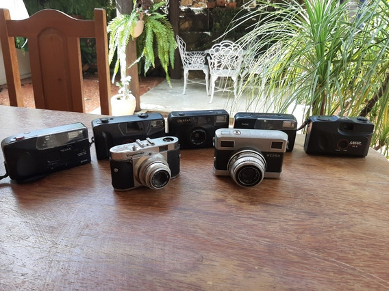 Lote De Câmeras Antigas 7 Cameras