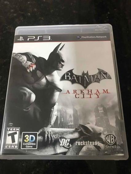 Jogo Ps3 Batman Arkham City Original Mídia Física