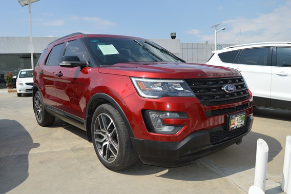 Ford Explorer Sport V6 3.5l Aut Rojo 2017