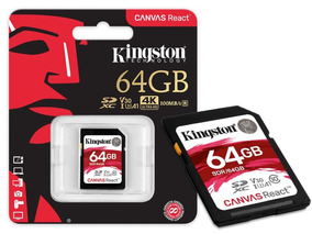 Cartao De Memoria Classe 10 Kingston Sdr 64gb Sdxc 64gb 100r