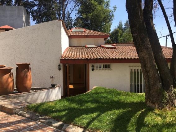 Casa En Renta Cuajimalpa Con Excelentes Acabados