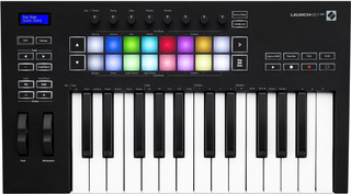 Teclado Controlador Novation Launchkey 25 Mkiii Pads Faders