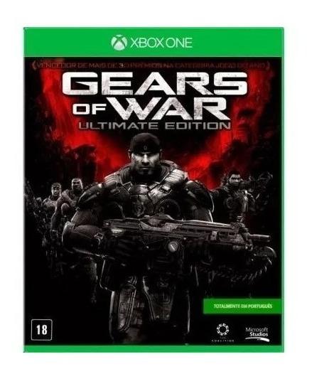 Xbox One - Gears Of War Ultimate Edition Mídia Física