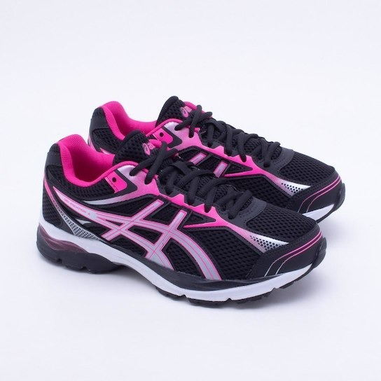Tênis Asics Gel Equation 9 Feminino - Preto E Prata