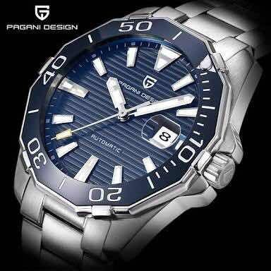 Reloj Automático Pagani Design (no Usa Pila)