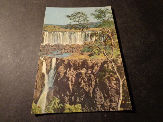 Foz Do Iguacu- Brasil- Cataratas-estado De Parana-