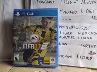Video Juego Ps4 Físico Fifa 17 Ea Sports Nuevo Sellado
