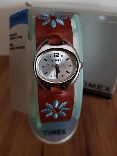 Relogio Timex Feminino Pulseira Couro