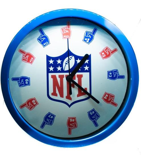 Reloj De Pared Nfl O Broncos De Denver Producto Oficial