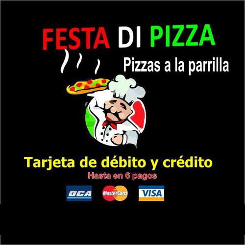Pizza A La Parrilla, Servicio Integral De Fiestas