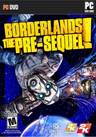 Borderlands: The Pre-sequel! - Pc Dvd-rom - Mídia Física
