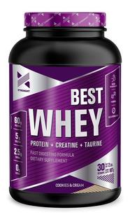 Best Whey Protein 2 Lb Xtrenght Proteina Potenciada Con Creatina Taurina Enzimas Digestivas