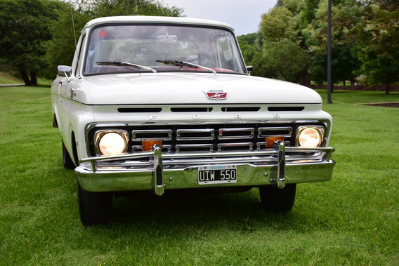 Ford F100 Mod 1962 Motor V8 Original 98% Real Coleccion