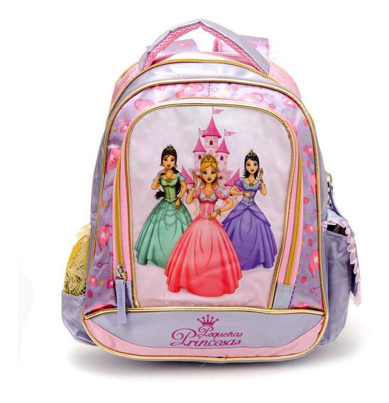 Mochila Pequeñas Princesas 14 Pulgadas Top3
