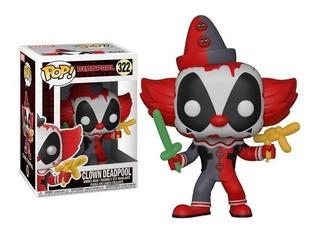 Figura Funko Pop Deadpool Clown Deadpool #322
