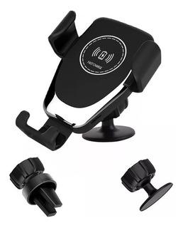 Carregador Wireless Qi Veicular Sem Fio iPhone Sansung