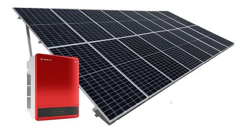 Imagen 1 de 5 de Kit 16 Paneles Solares 450w Completo - 1900kwh Bimestral