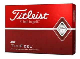 Kaddygolf Pelotas Golf Titleist Tru Feel - Cajax12 Blanca